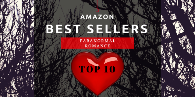 paranormal romance bestsellers amazon