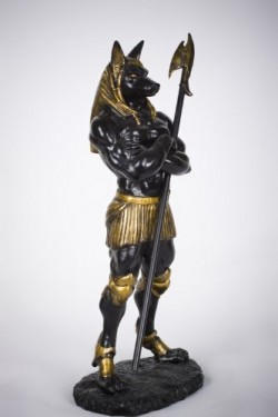 Anubis is prepared to guard you as you delve into your next paranormal romance.