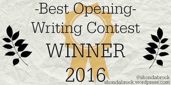 Best opening writing contest winner